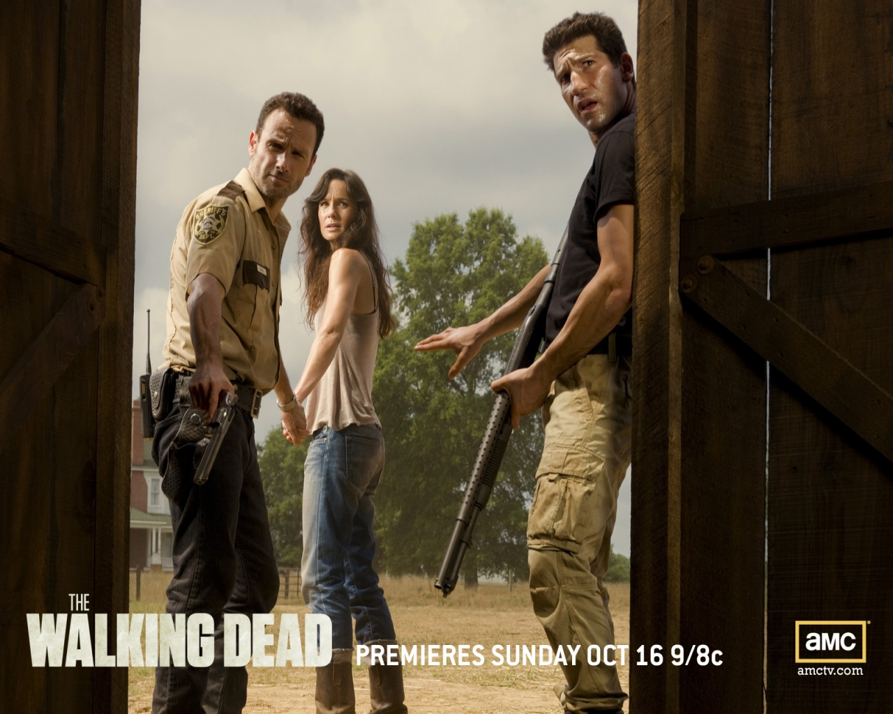 1280x1024 the walking dead - photo #11
