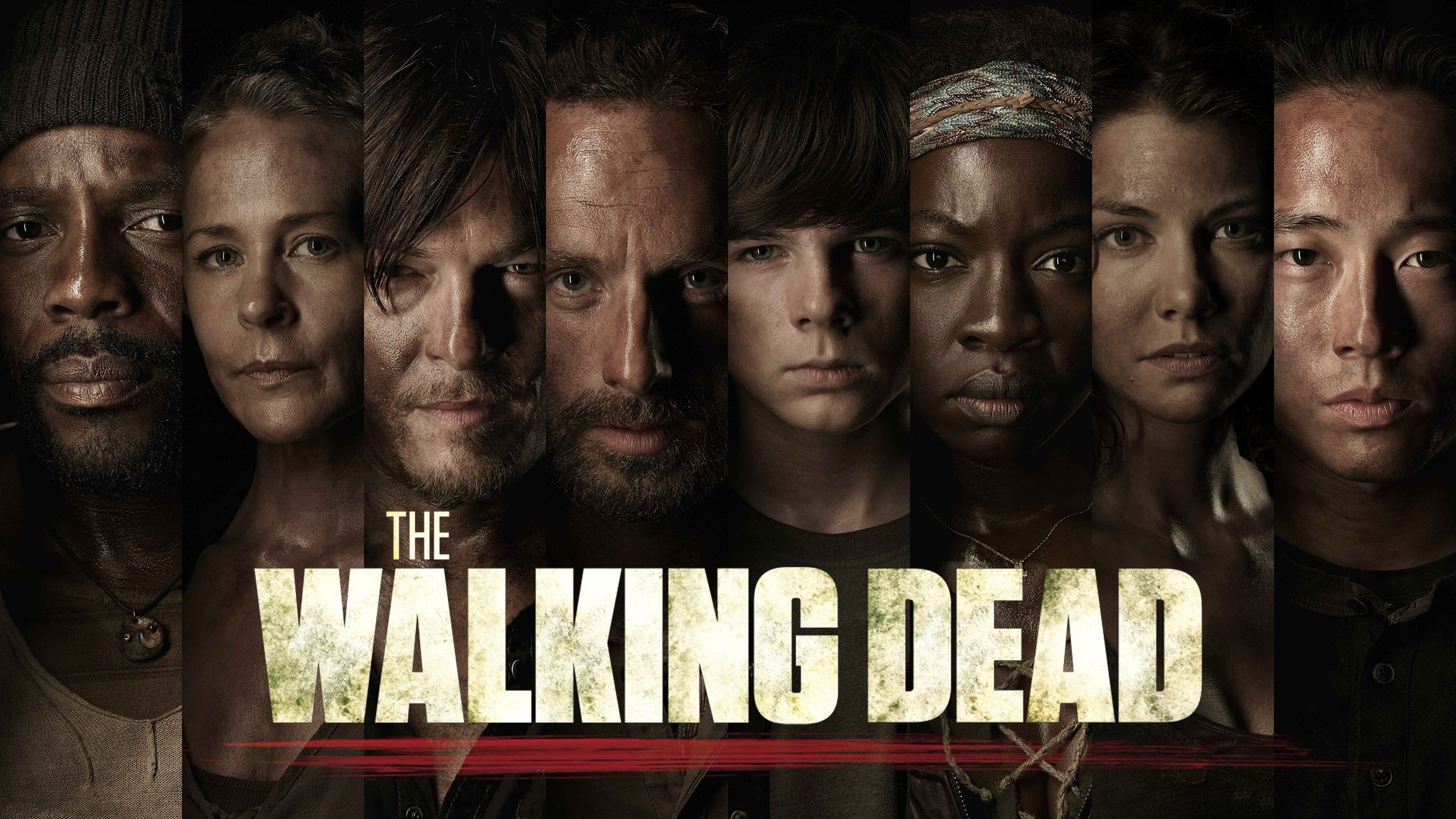 2560x1440 the walking dead poster desktop pc and mac wallpaper
