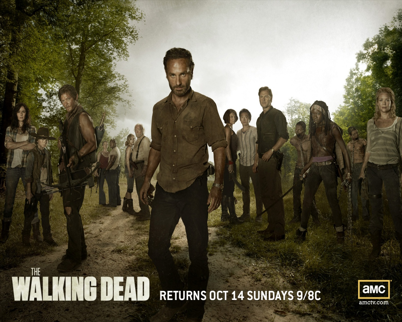 1280x1024 the walking dead - photo #6