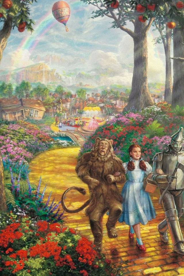 640x960 The Wizard Of Oz Desktop Pc And Mac Wallpaper