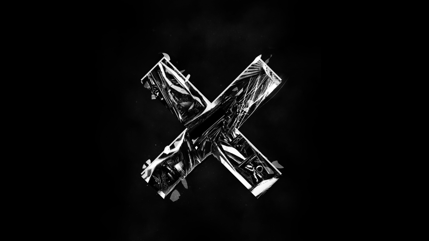 1366x768 The XX Logo Desktop PC And Mac Wallpaper