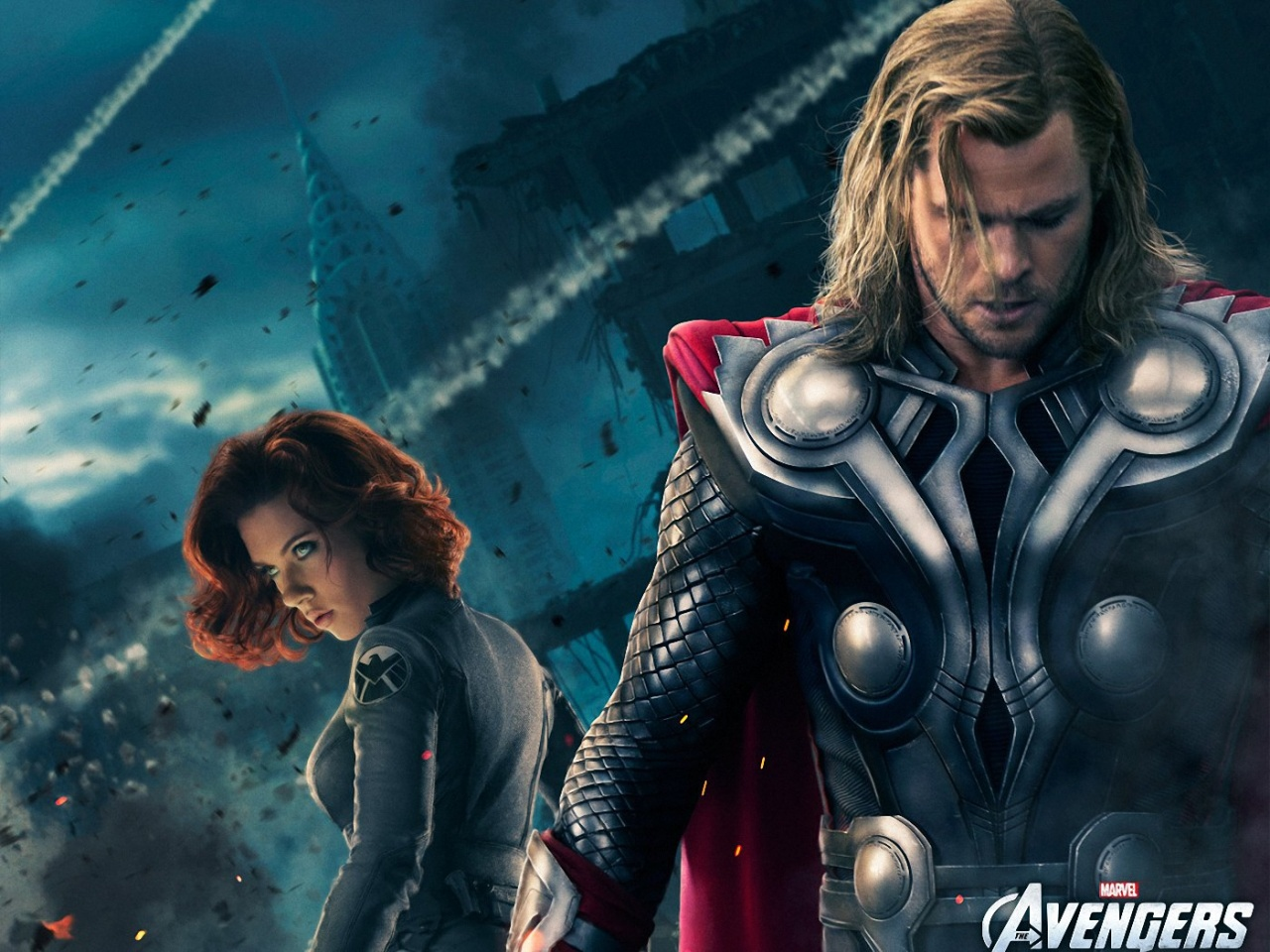 Thor And Black Widow Wallpapers Thor And Black Widow Stock