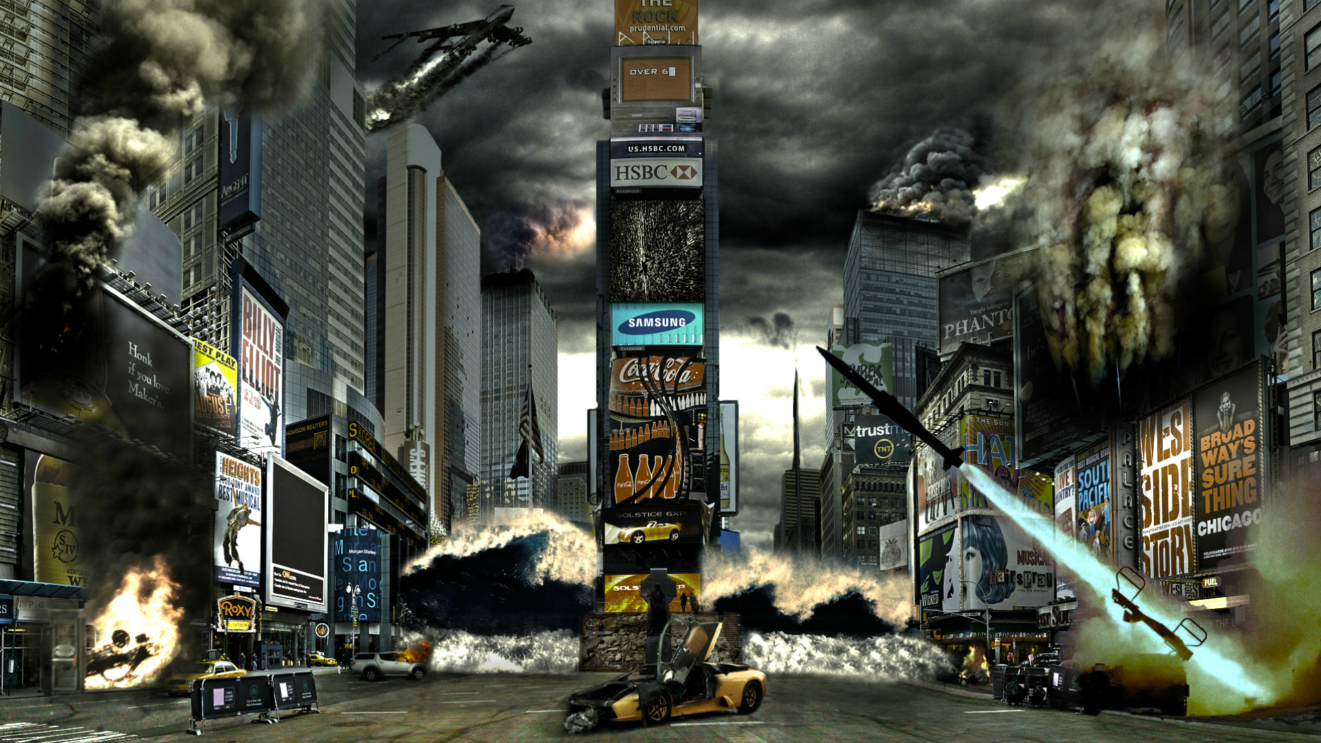 Image: Times Square Disaster wallpapers and stock photos. «