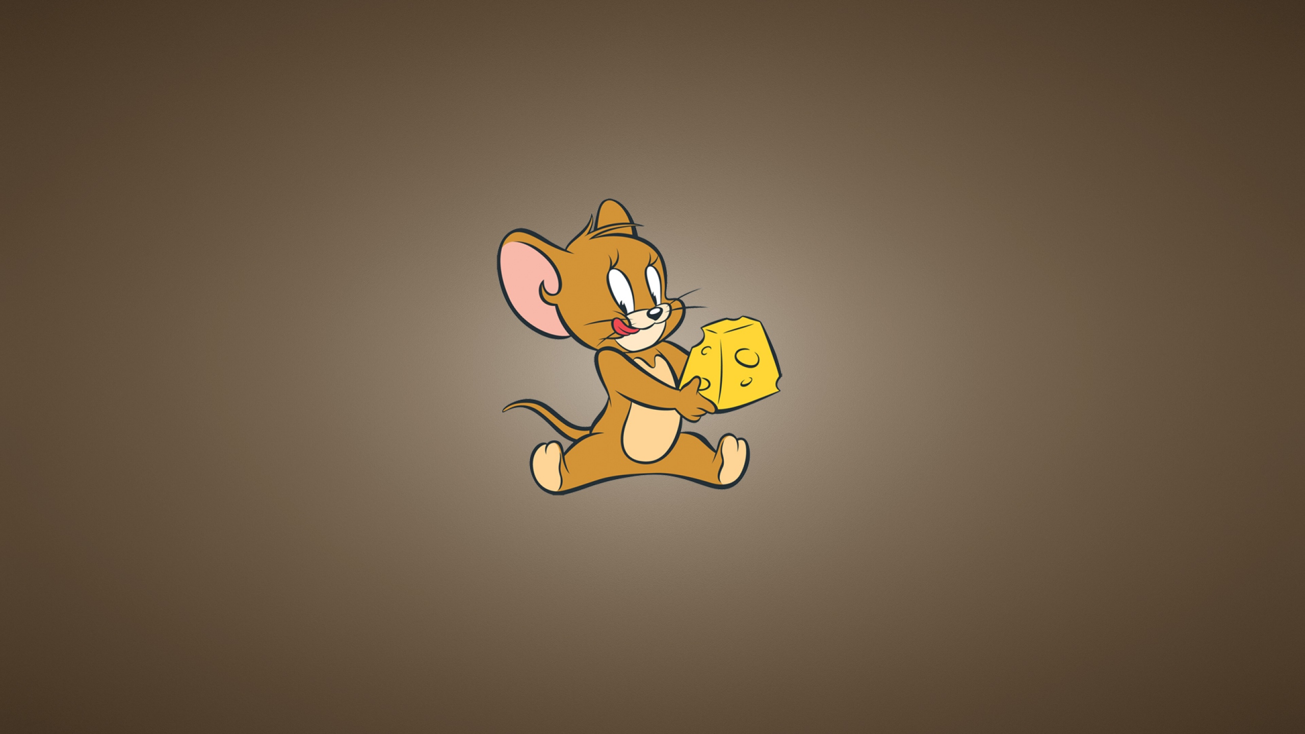 2560x1440 Tom And Jerry Cheese Mouse Youtube Channel Cover