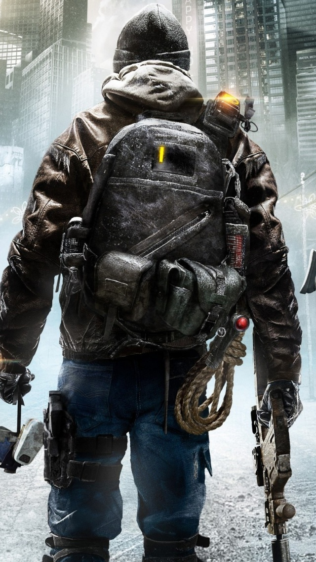 640x1136 Tom Clancy S The Division Iphone 5 Wallpaper