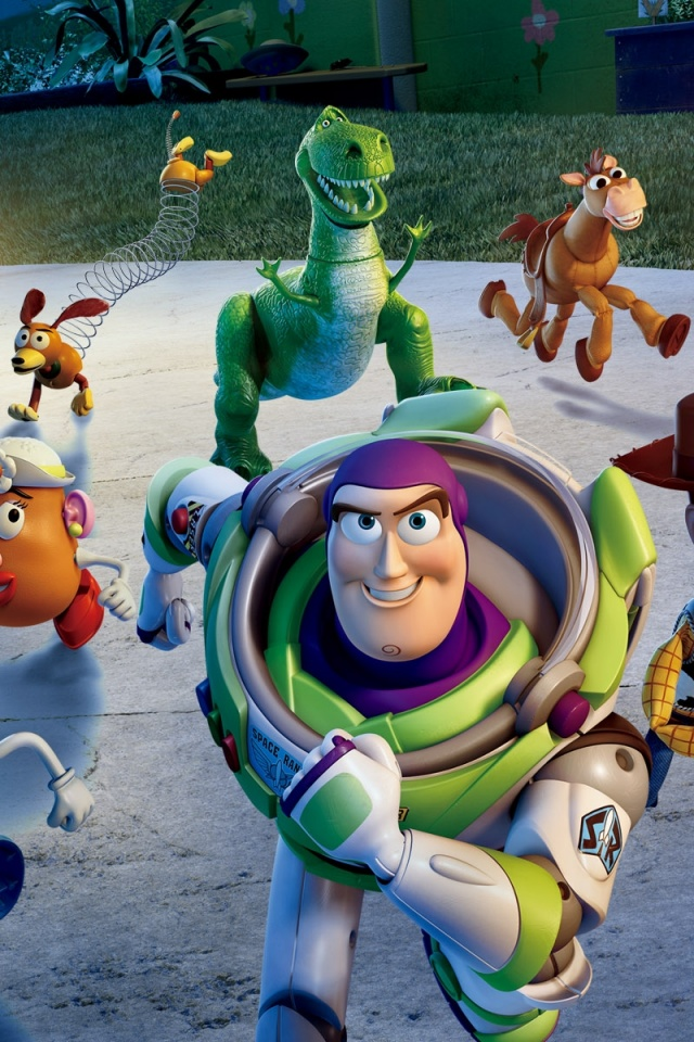 640x960 Toy Story 3 Iphone 4 Wallpaper