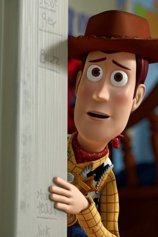 320x480 Toy Story Woody Iphone 3g wallpaper