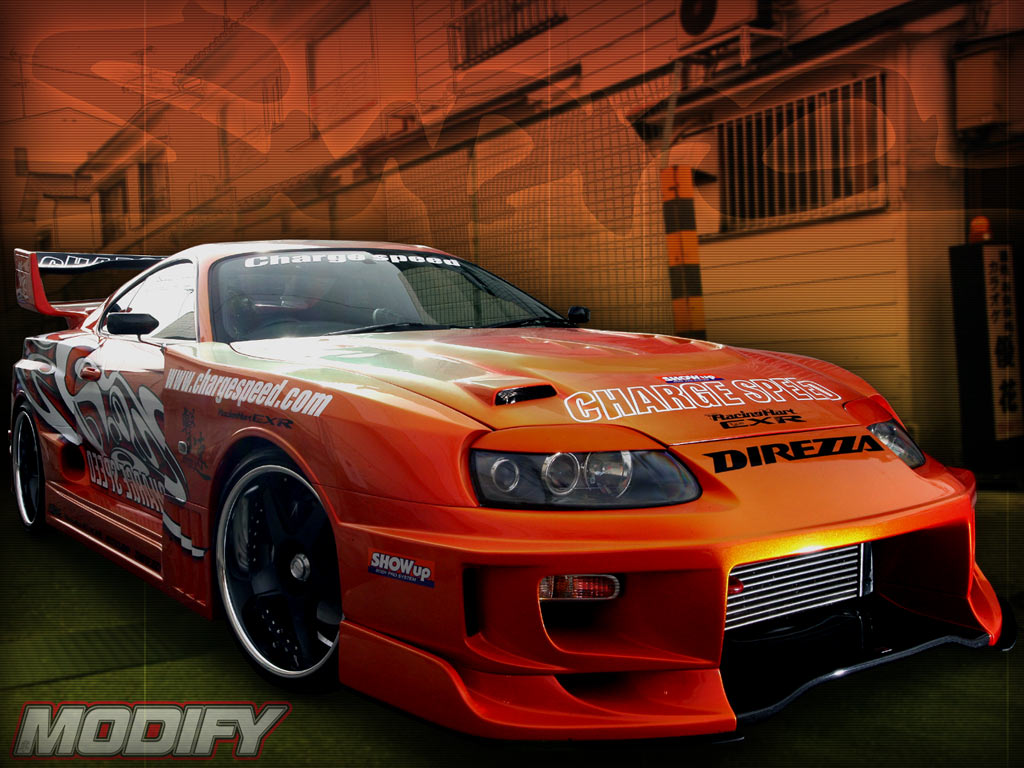 Toyota Supra Front Wallpapers