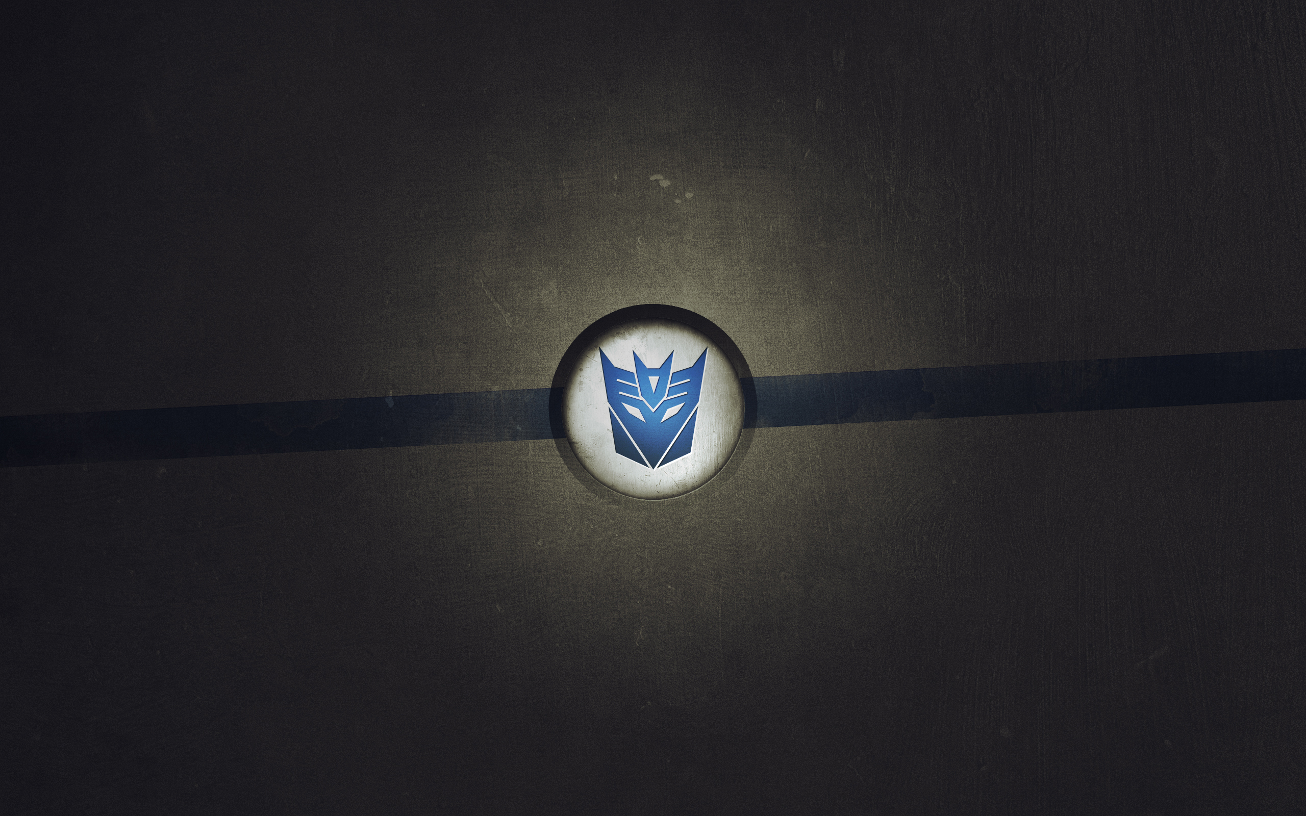 2560x1440 Transformers Logo Youtube Channel Cover