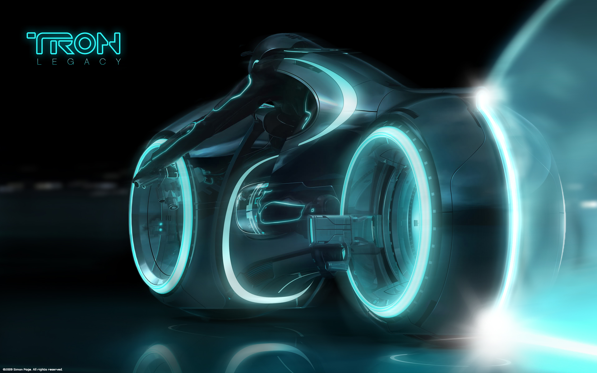 Image Tron Legacy Bike Wallpapers And Stock Photos
