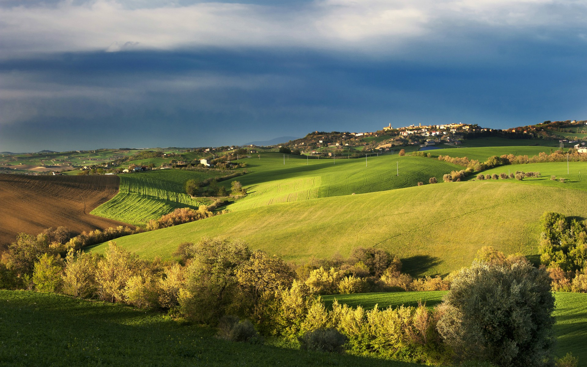 Tuscany Spring Landscape Wallpapers Tuscany Spring