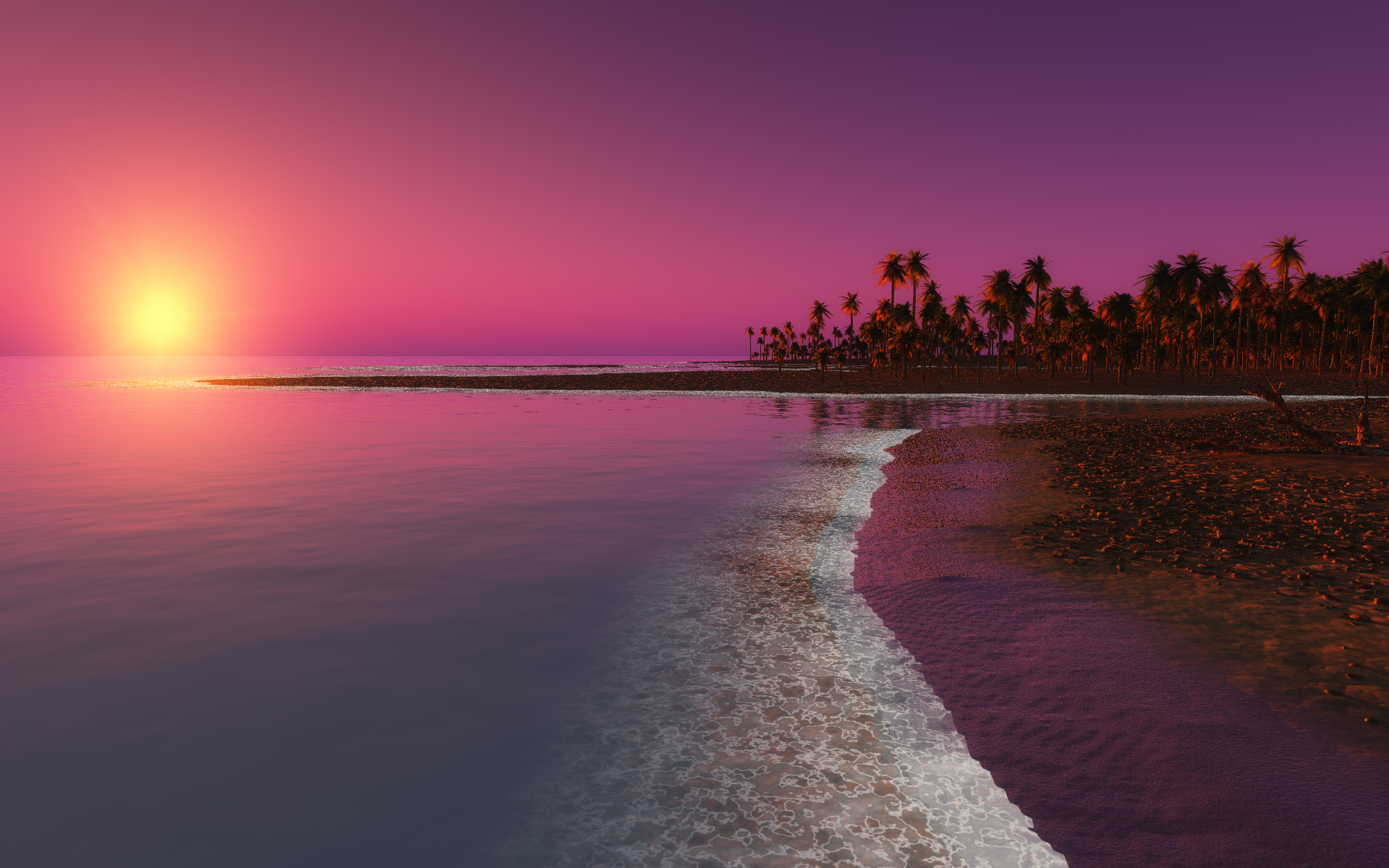 Image: Twilight Sunset, Summer Wallpapers And Stock Photos. «