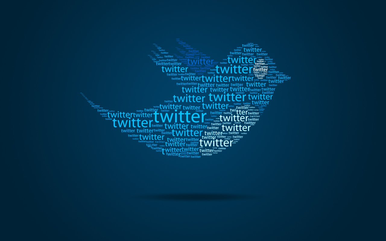 1280x800 typo twitter bird desktop pc and mac wallpaper