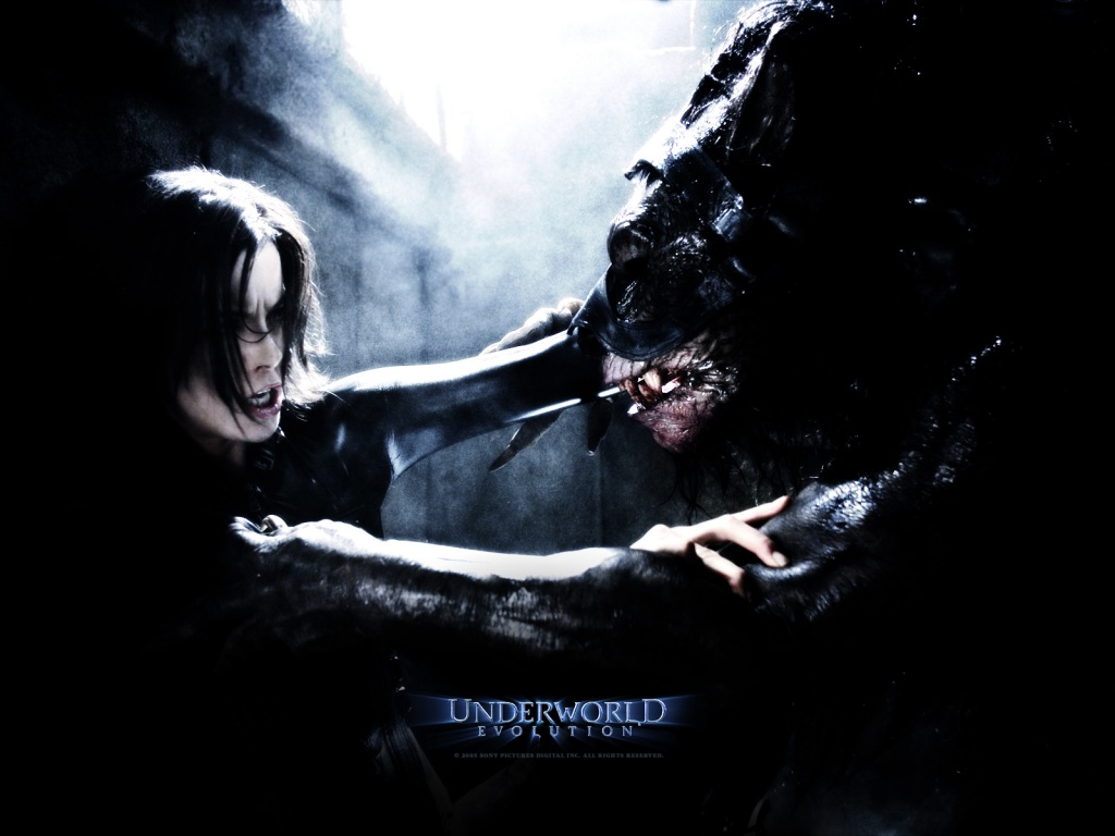 1024x768 Underworld beast desktop PC and Mac wallpaper