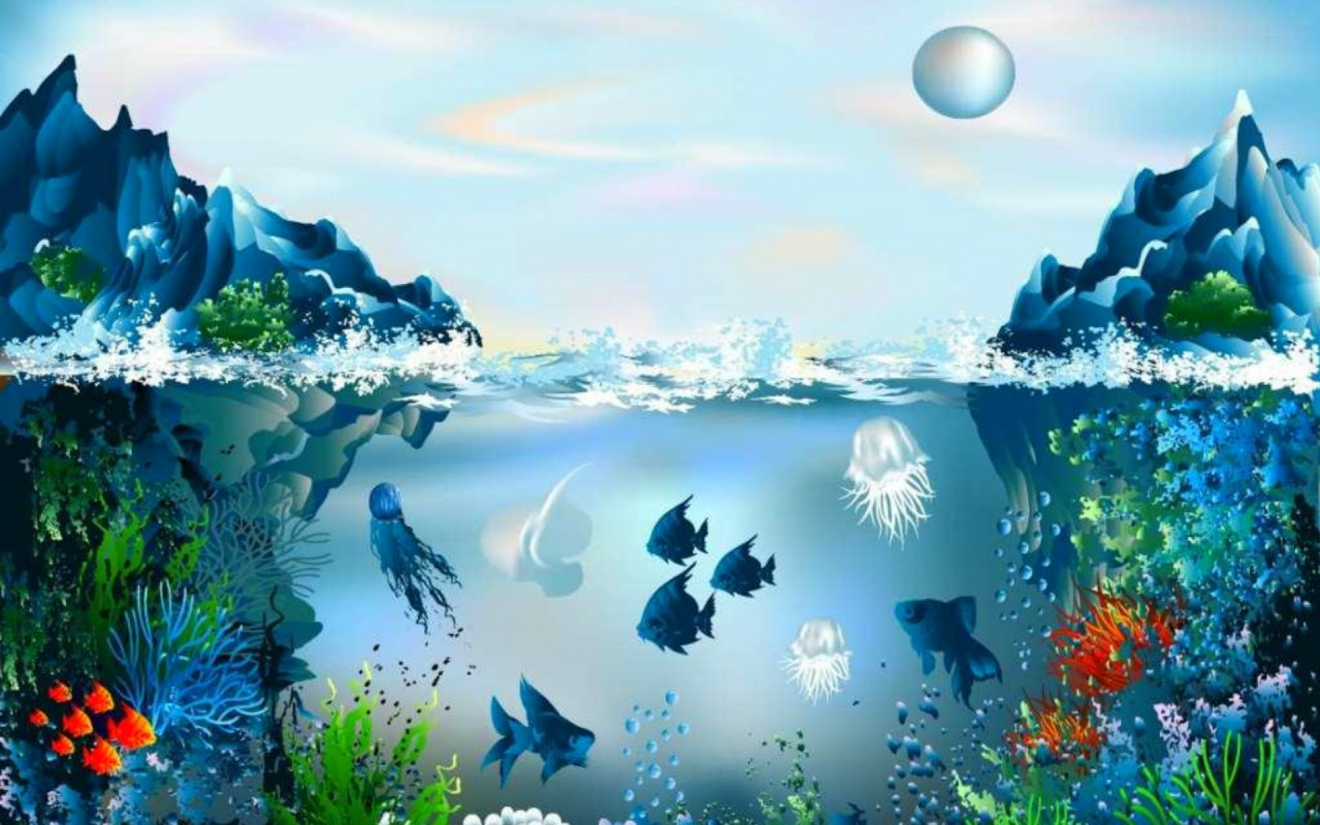 best underwater iphone wallpapers