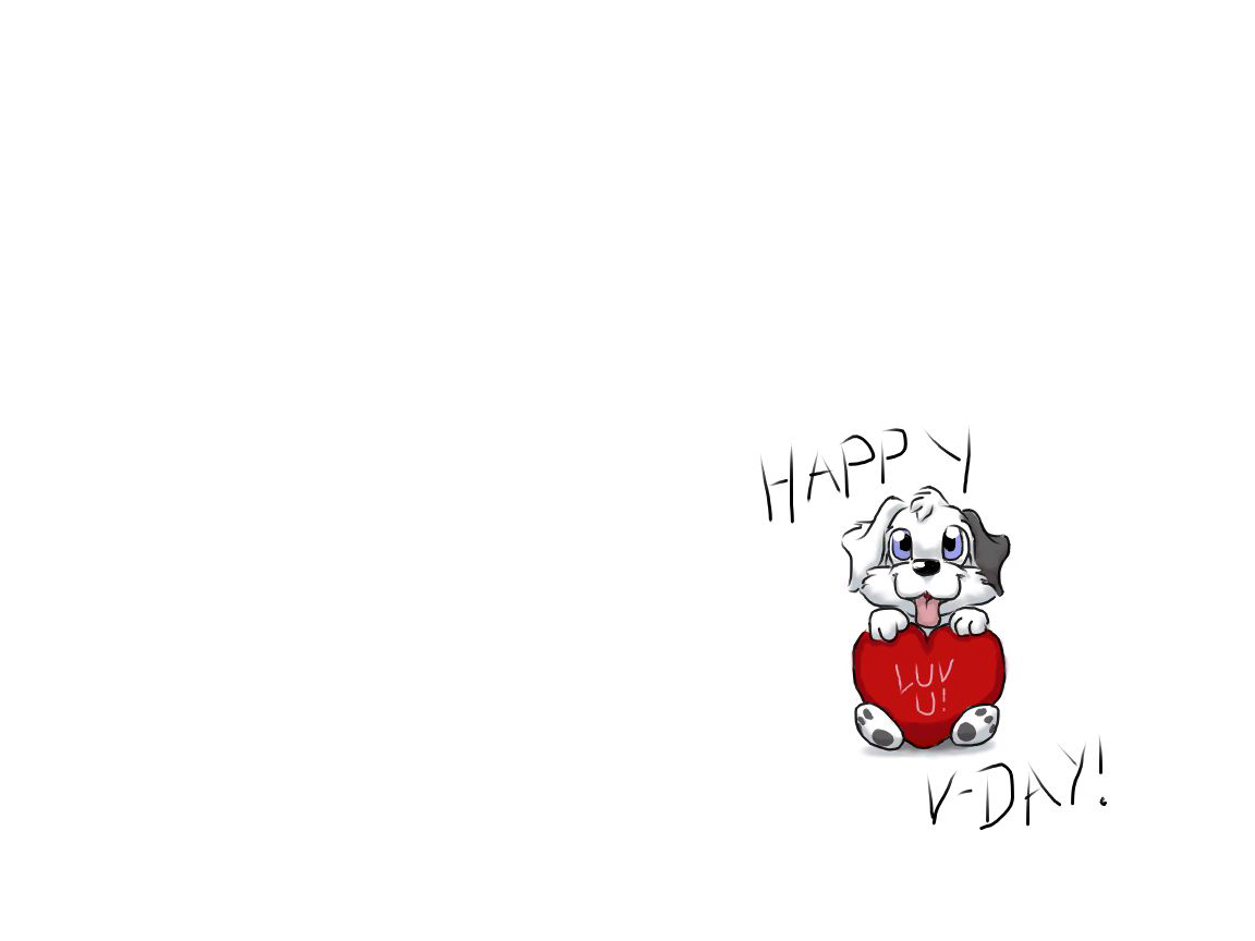 Valentines Happy Dog Wallpapers Valentines Happy Dog