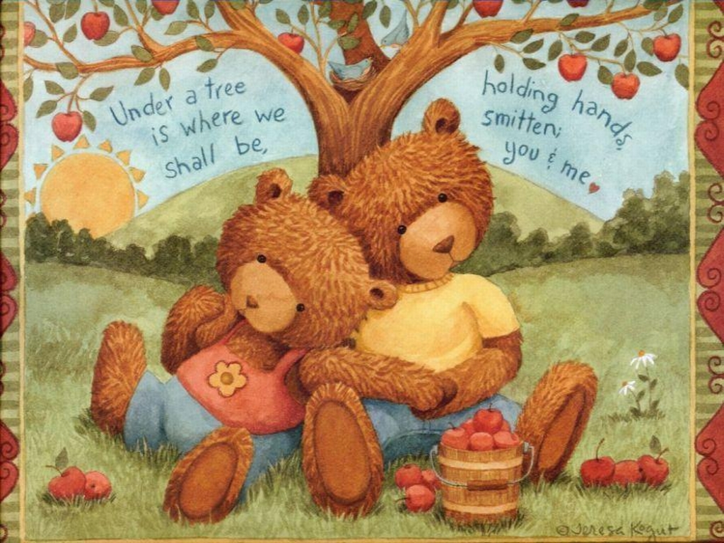 Valentine Bears Wallpapers And Stock Photos