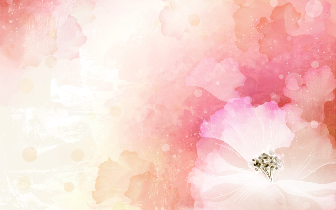 1280x800 Vector Flower,  landscape