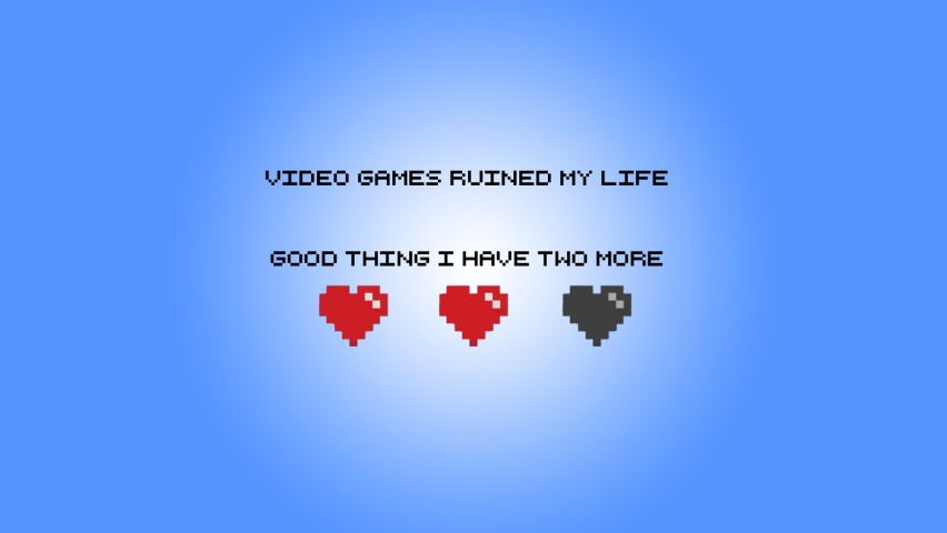 825x315 Video Games Ruined My Life Facebook Cover Photo