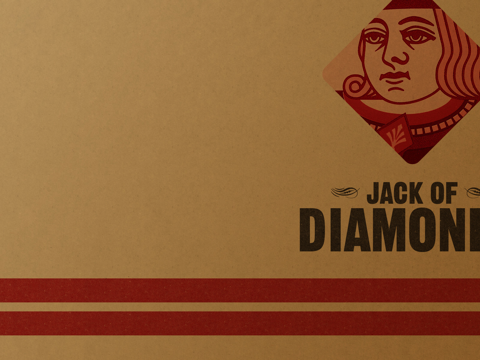 1500x500 Vintage Jack Of Diamonds Twitter Header Photo
