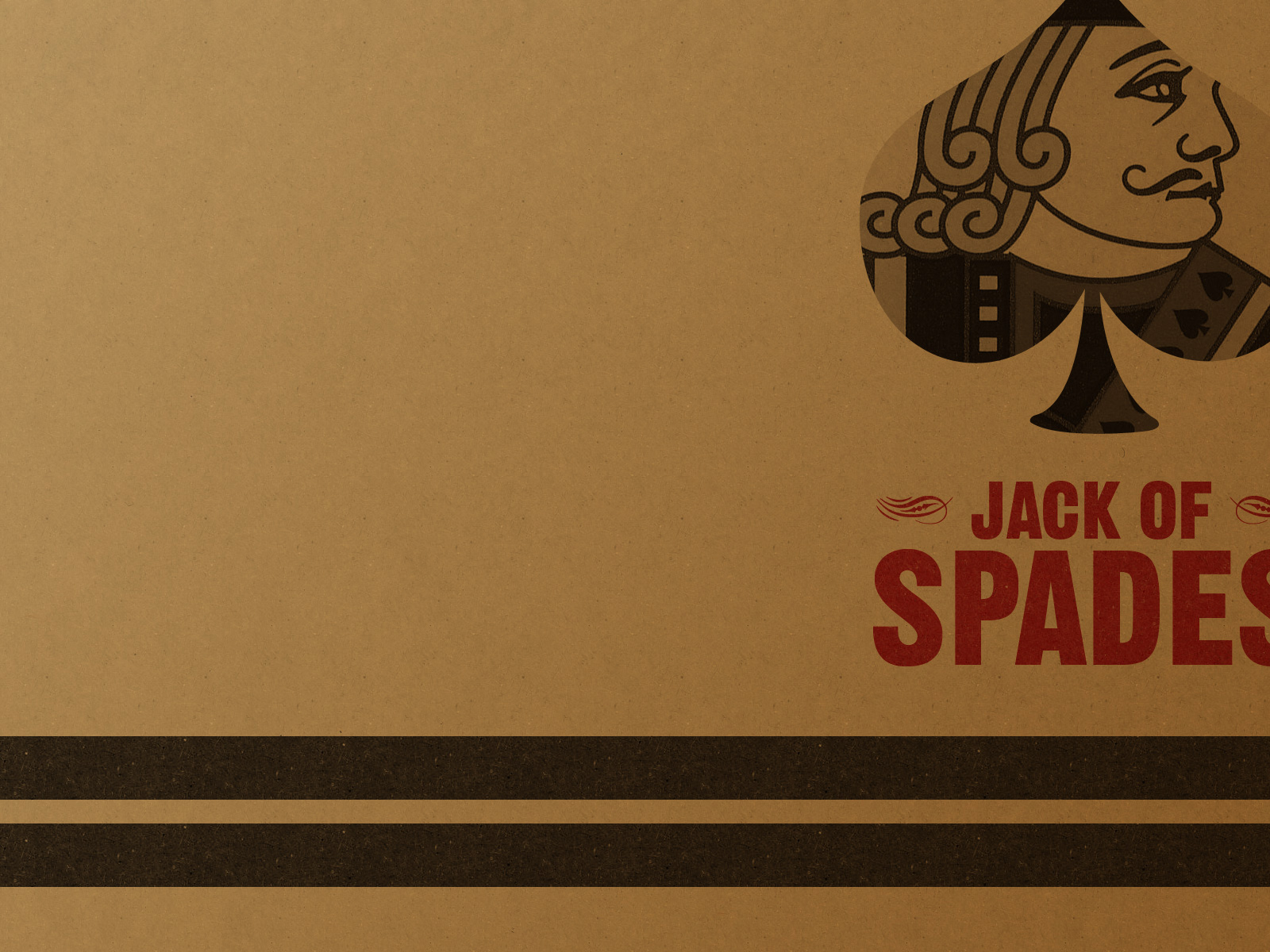 1500x500 Vintage Jack Of Spades Twitter Header Photo