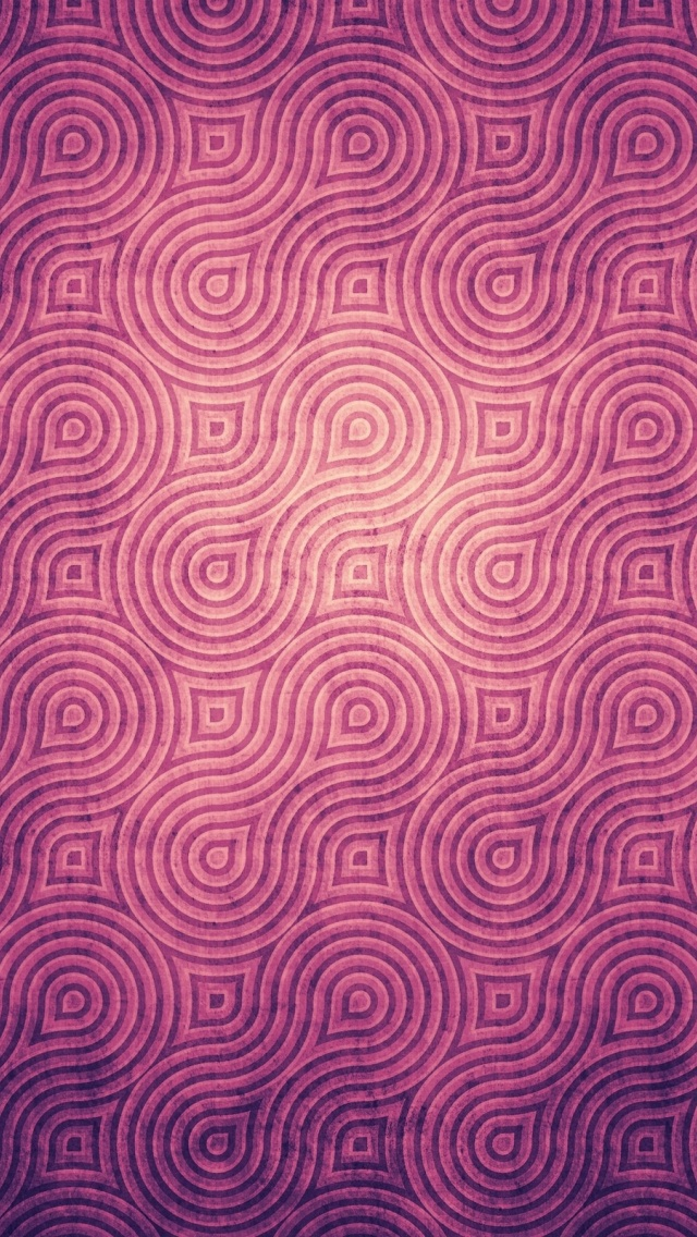 640x1136 Vintage Purple Pattern Iphone 5 Wallpaper
