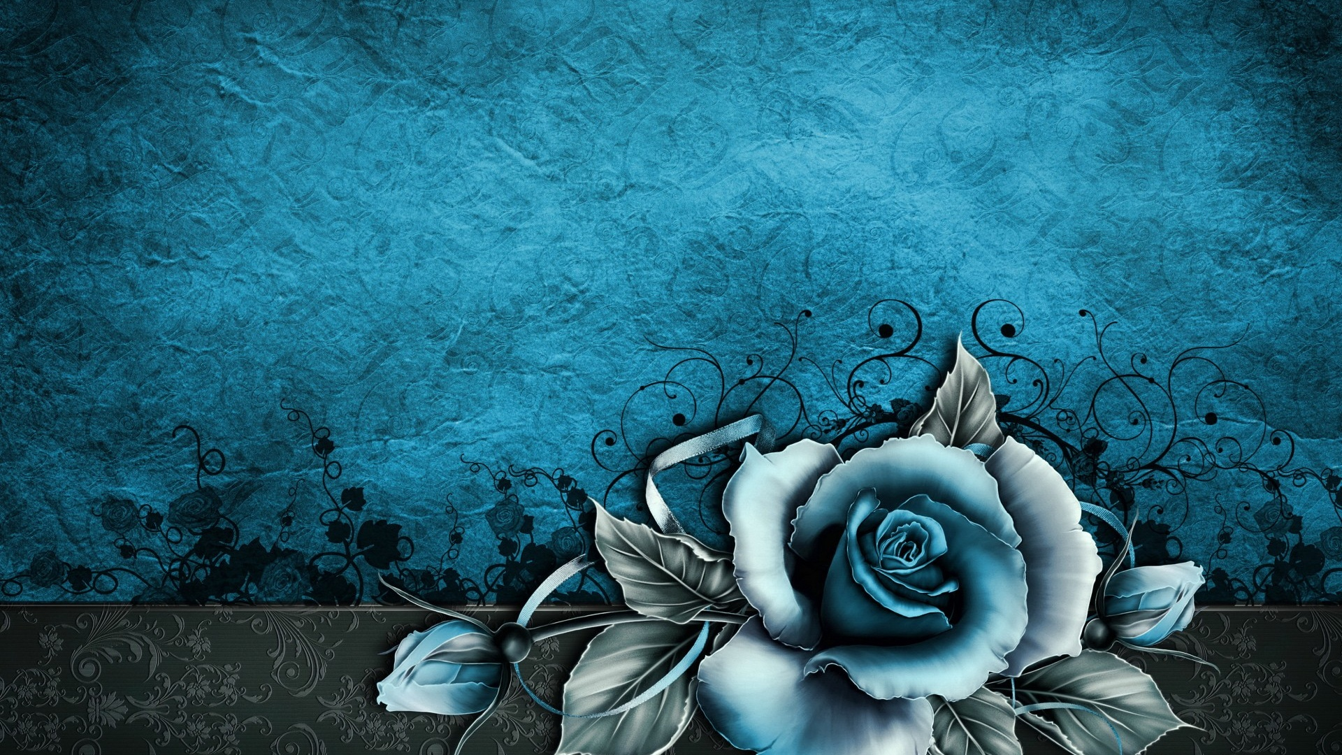 1920x1080 vintage rose abstract blue desktop pc and mac