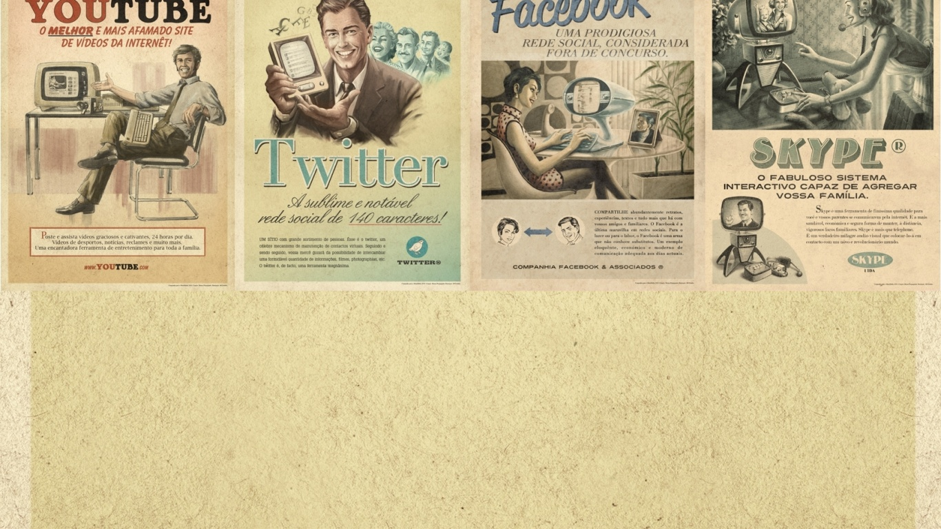 vintage wall cool twitter - photo #49