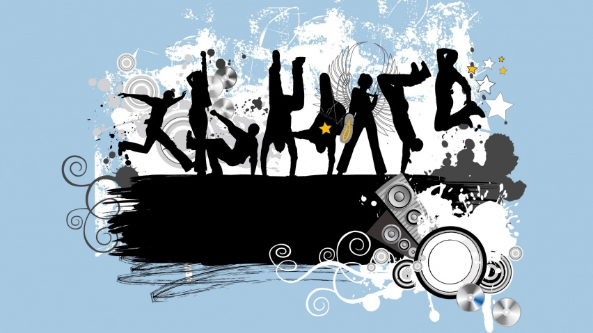 852x480 Vital Youth desktop PC and Mac wallpaperYouth Group Vector