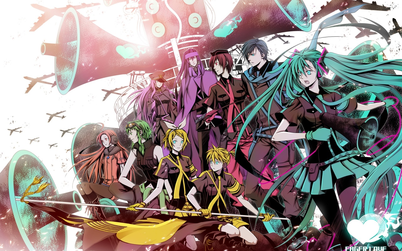 vocaloid characters wallpapers - photo #1