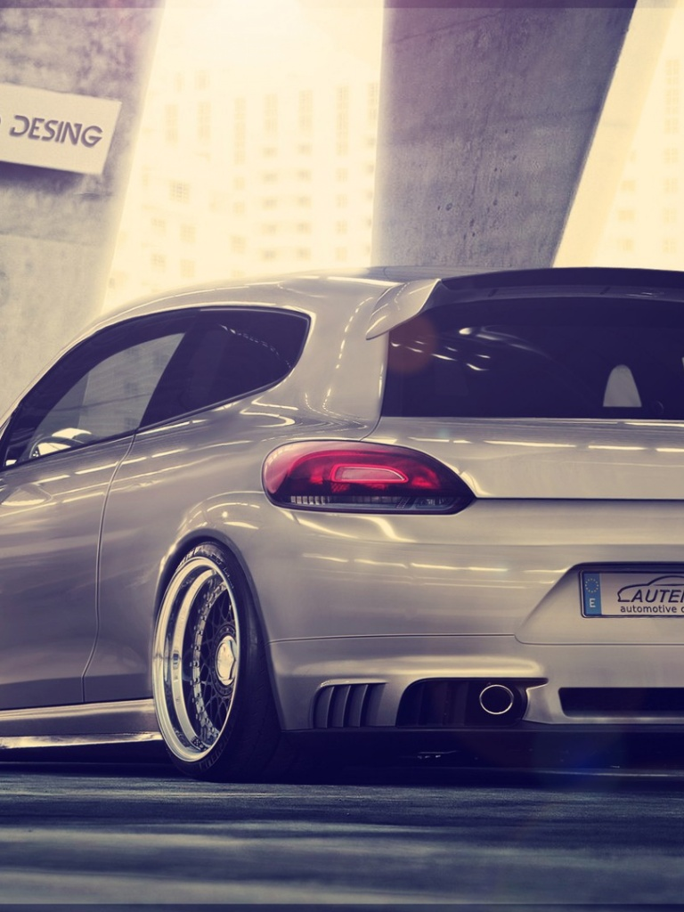 X Volkswagen Scirocco ABT Ipad Mini Wallpaper - Abt ipad