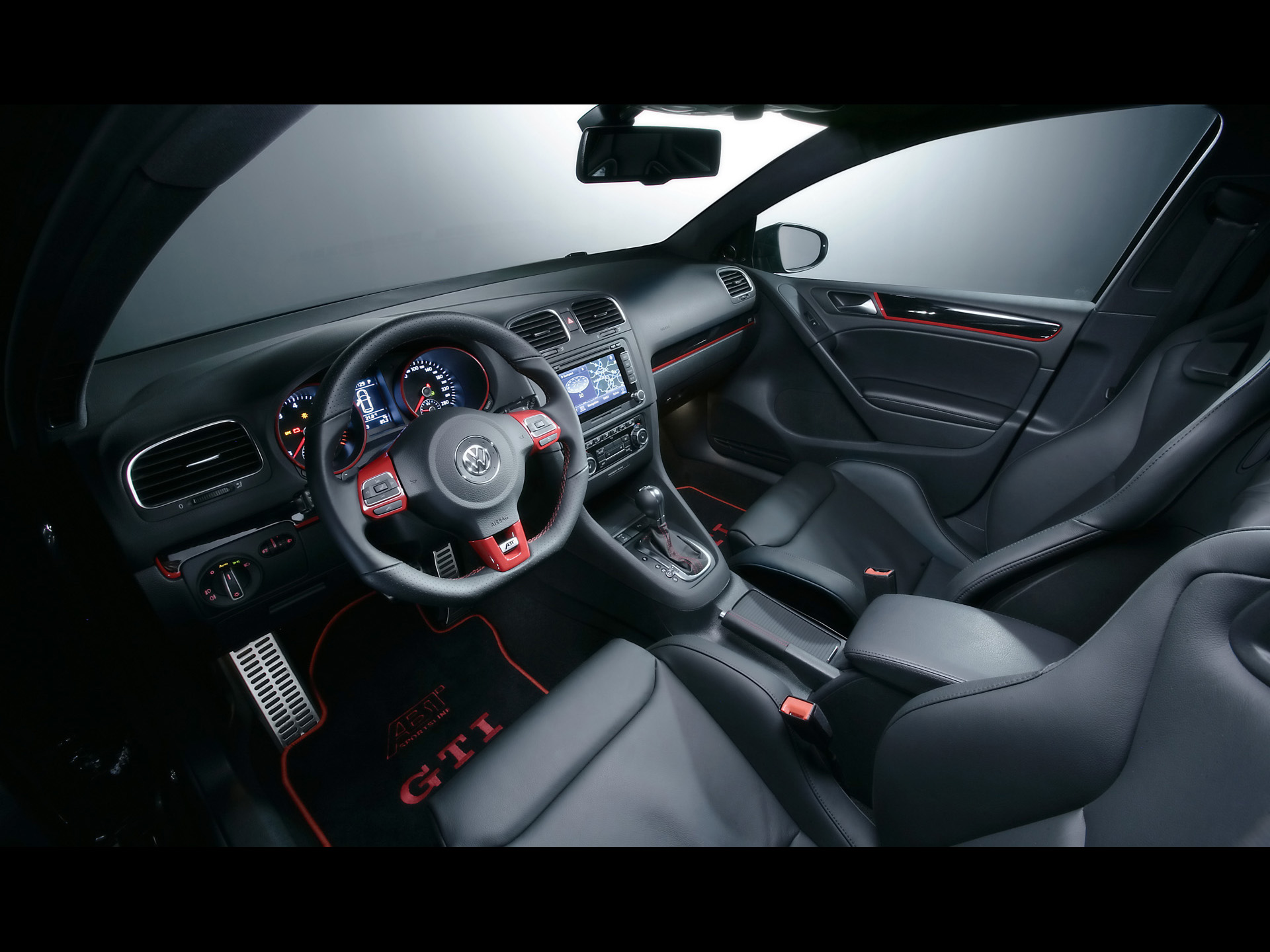 VW GTI ABT Interior Wallpapers VW GTI ABT Interior Stock Photos - Abt ipad