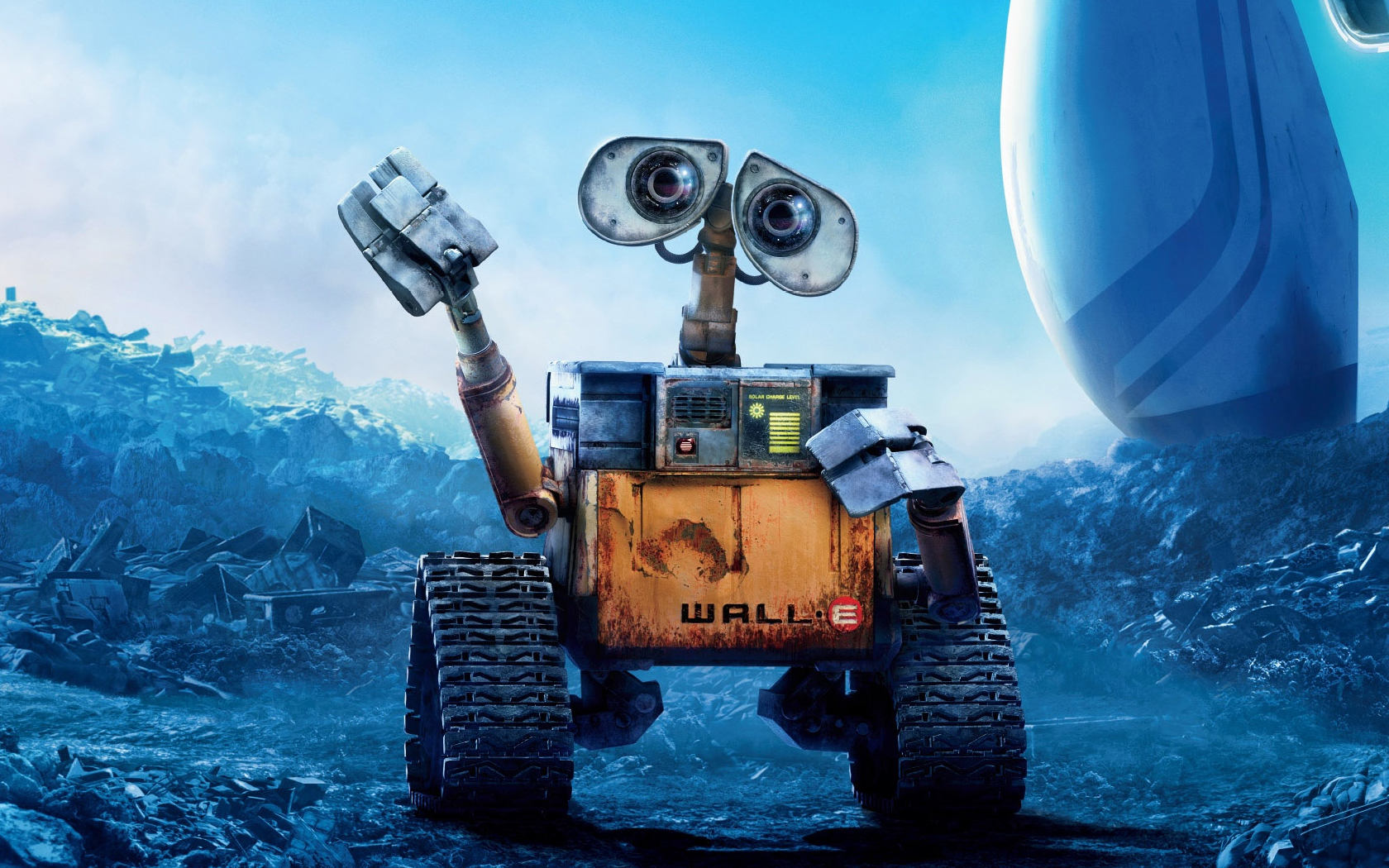 1680x1050 Wall E Robot Picture Desktop PC And Mac Wallpaper