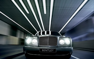 Bentley Limousine vor wallpapers and stock photos