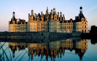 Beautiful chateau wallpapers and stock photos