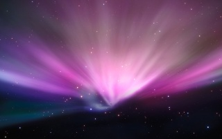 Aurora in space wallpapers and stock photos