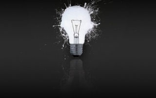 White light bulb wallpapers and stock photos