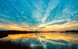 Random: Windows 7 lake
