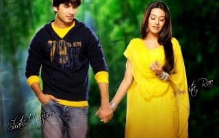 Amrita & Shahid wallpapers and stock photos