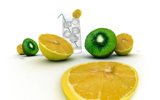 Random: Lemons and kiwi