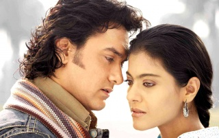 Kajol & Aamir1 wallpapers and stock photos