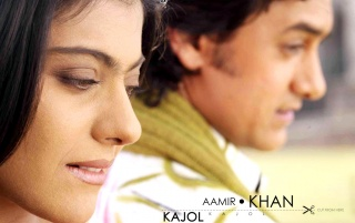 Kajol & Aamir2 wallpapers and stock photos