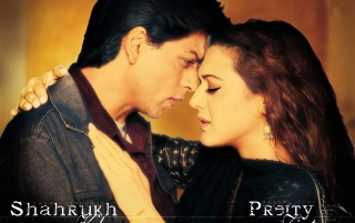 Preity & Shahrukh1 wallpapers and stock photos