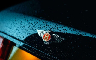 Bentley badge wallpapers and stock photos