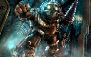 Bioshock Big Daddy wallpapers and stock photos