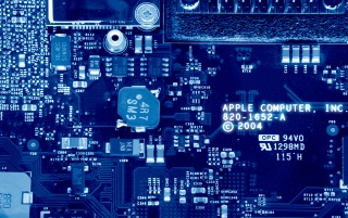 Apple Circuits wallpapers and stock photos