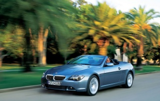BMW 645Ci Convertible wallpapers and stock photos