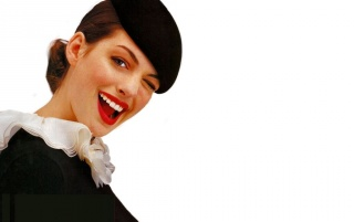 Hathaway wink wallpapers and stock photos