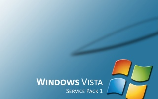Vista SP1 blue wallpapers and stock photos
