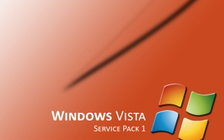Vista SP1 orange wallpapers and stock photos